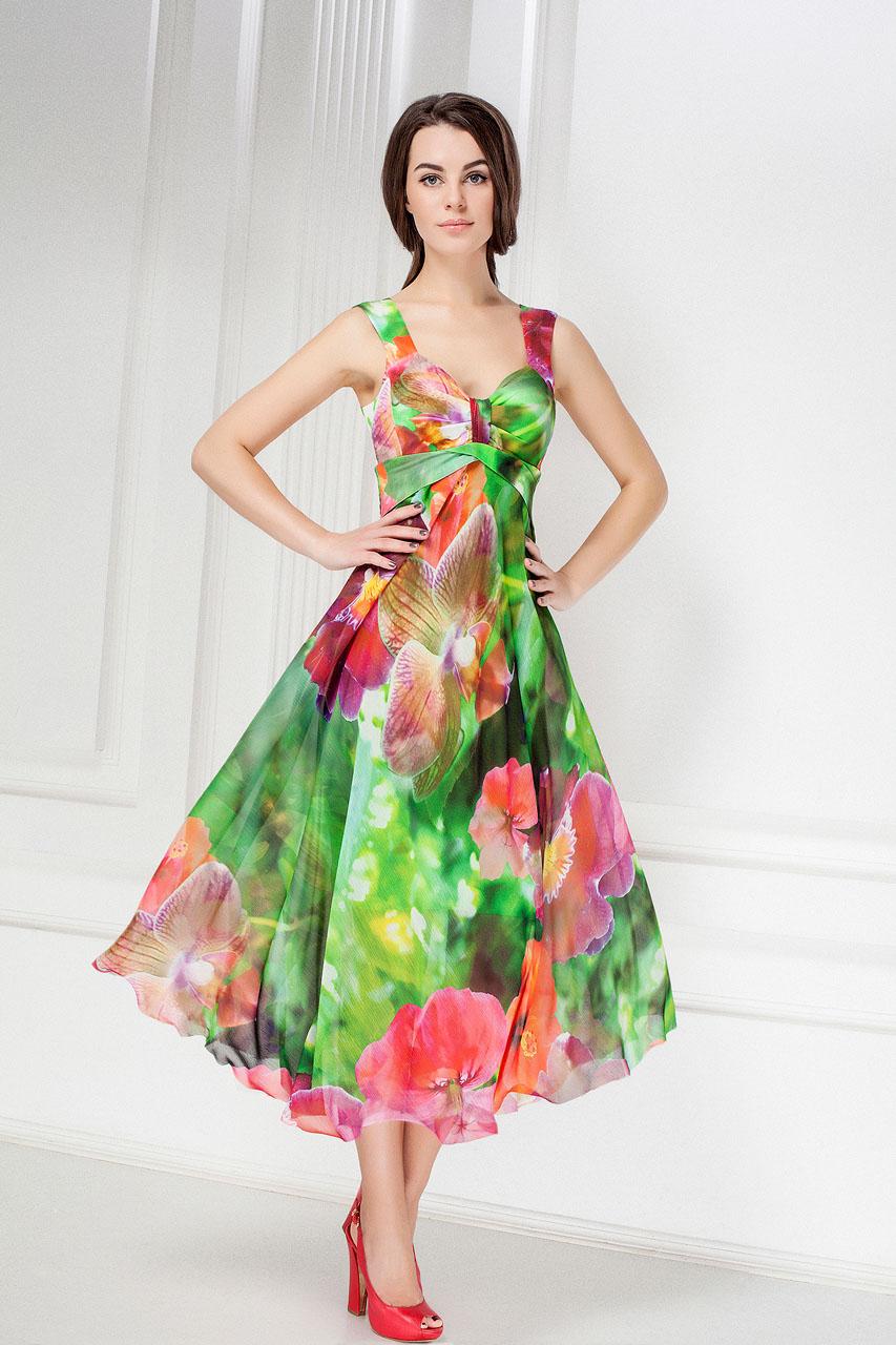 Платья Из Шелка